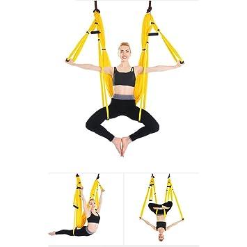 AYUE® Aerial Yoga Swing, Volar Yoga Hamaca Conjunto Honda ...