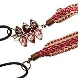 Tamarusan Hairband Headband Hair Accessories Hair Ornament Red Handmade