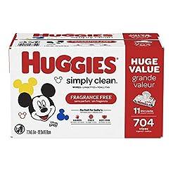 HUGGIES Simply Clean Fragrance-free Baby...