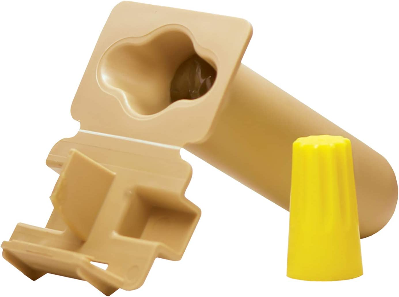 King Innovation DryConn Dry-Splice Connector with Crimp Sleeve pre-Filled -Package of 25