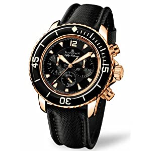 Best Epic Trends 51W9ZfegHEL._SS300_ Blancpain Men's 5085F.3630.52 Fifty Fathom Automatic Flyback Chronograph Watch