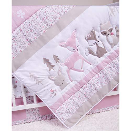 Sammy & Lou Sammy & Lou Sweet Forest Friends 4Piece Crib Bedding Set