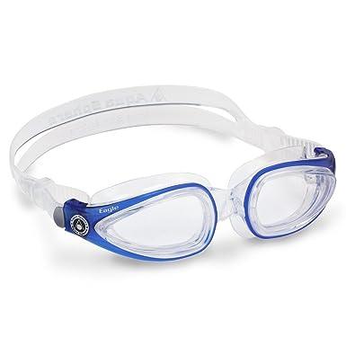 fcb1e8f935 Aqua Sphere Eagle - Gafas de natación, Transparente Deep Blue ...