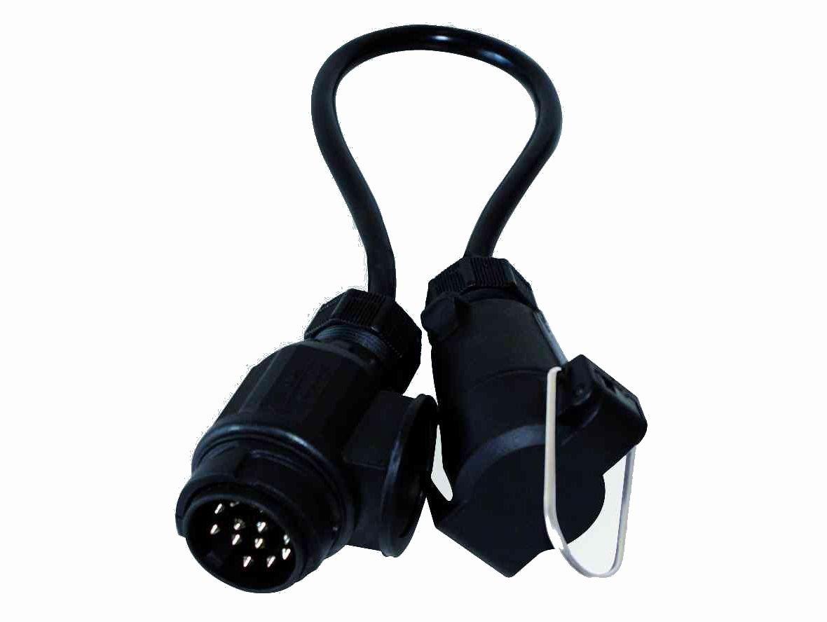 LAS 10012 Adapterkabel 13-Pol. Stecker auf 7-Pol. Dose, 40 cm ...