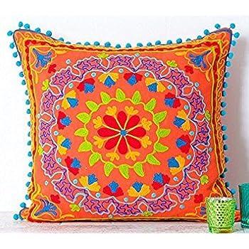 Amazon.com: El Paso Designs Serape Throw Pillow Cover, 18 X ...