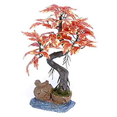 Penn Plax Bonsai Tree on Urn by Penn Plax Inc