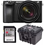 Sony a6500 Mirrorless Camera with 18-135mm Lens Bundles (Essentials Bundle)