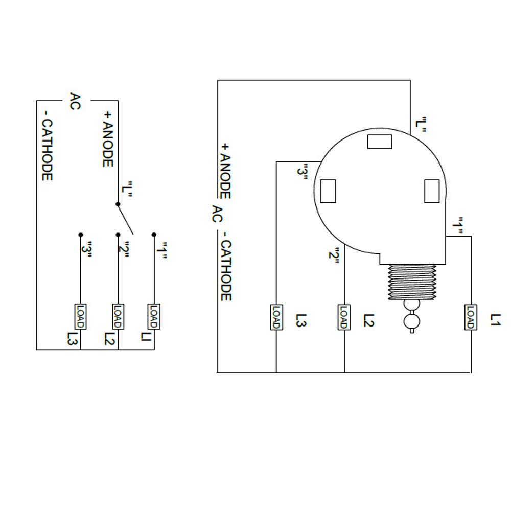 Binglinghua Zing Ear Switch 3 Speed Pull Chain Control Ceiling Fan Switch