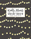 Weekly Planner 2018 - 2019, 16 Month Sept 2018
