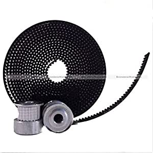 Vivian GT2 20 tooth Timing Pulleys And 2 Meters Of GT2 Belt 3D Printing CNC Reprap