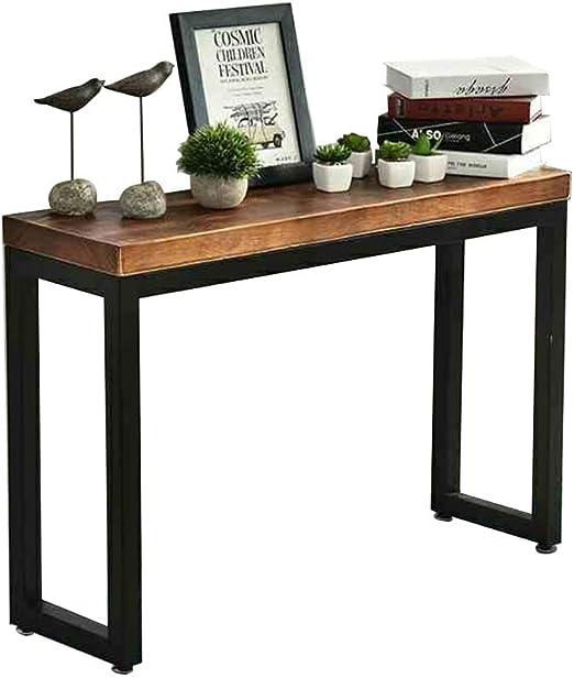 Amazon.com: HANSHAN Entryway Console Table, Solid Wood Narrow