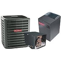 4 Ton Goodman 18 SEER R410A Two-Stage Variable Speed Horizontal Heat Pump Split System (No Heat Strip)