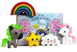 Madam Posy Design Rainbows Unicorns Stuffed Animal Sewing Crafts Kit Girls: Unicorn DIY Stuffed Animal Sewing Craft Kit kids Age 7-12
