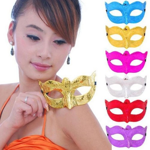 [Stylish Dance Parties Carve patterns Style Eye Mask For Halloween] (Dance Costumes Ma)