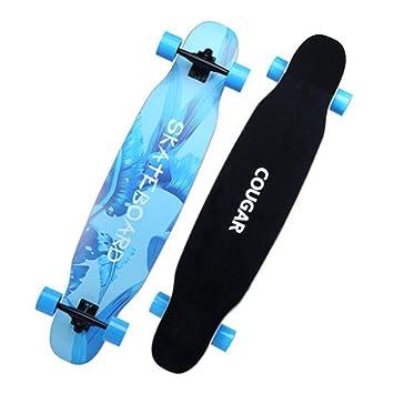 Skateboarding Patineta para adultosPista de viaje de cuatro ruedas con cepillo de High Street Skateboard de