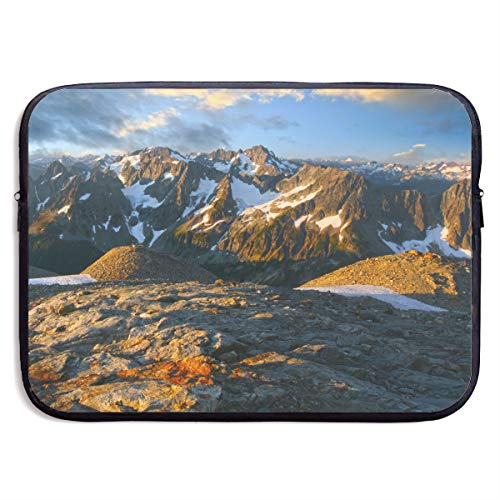 (13-15 Inch Laptop Sleeve North Cascades National Park Notebook Computer Pocket Case/Tablet Briefcase Carrying Bag MacBook Bag for)