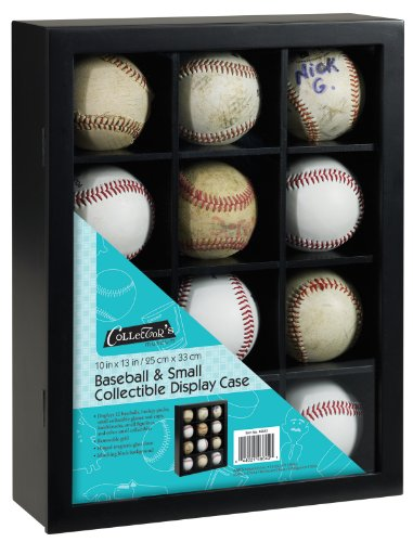 MCS 10x13 inch Baseball Display Case Holds 12 Balls (46642)