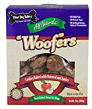 "Three Dog Bakery Apple Oatmeal ""Woof""er Cookies, Baked Dog Treats, 13 ounces, My Pet Supplies"
