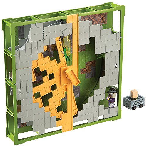 Minecraft Hot Wheels Track Blocks Plains Coaster Playset