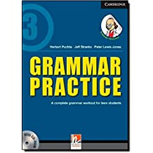 Grammar Practice Level 3 Paperback with CD-ROM: A Complete Grammar Workout for Teen Students