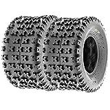 SunF Knobby ATV Sport Tires 22x11-9 22x11x9 4 PR A031 (Set Pair of 2)