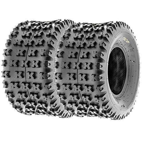 SunF Knobby Sport ATV Tires 21x7-10 & 20x11-9 4/6 PR A031 (Complete set of 4) by SunF (Image #3)