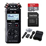 Tascam DR-05X Stereo Handheld Audio Recorder and