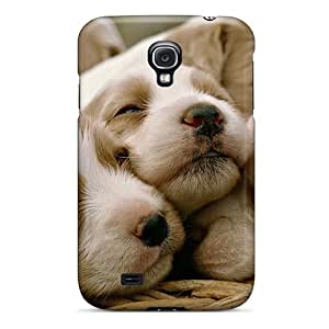 Fashion Tpu Case For Galaxy S4- Dog Litter Defender Case Cover