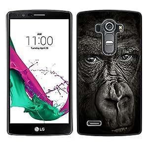 Stuss Case / Funda Carcasa protectora - Gorilla Noir Nature animale - LG G4