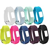 CUMILO Silicone Replacement Accessory Wrist Bands for Garmin vivofit 3