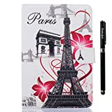 inShang iPad mini 4 case High quality Color Painting cover for iPad mini4 (2015) Multi-function stand case+1pc High end class business stylus Pen