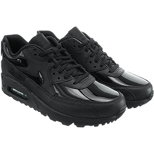 90 WMNS Femme de Air Black Gymnastique 002 Noir Chaussures black Leather Max Nike Black dtnwBq6w