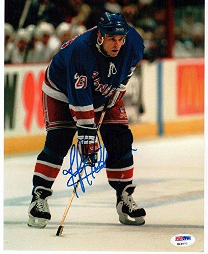 Jeff Beukeboom Rangers signed 8x10 Photo PSA/DNA auto (Rangers Signed Auto)