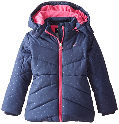 Nautica Little Printed Puffer Removable