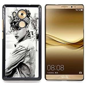 - R1hanna Rihnna Sexy - - Cubierta del caso de impacto con el patr??n Art Designs FOR Huawei Mate 8 Queen Pattern