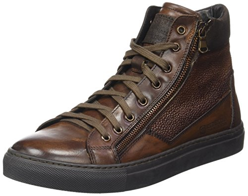 Cognac Sneaker Alto Collo Ln Redskins a marron Uomo Nerinel Marrone 0IxxwPZq