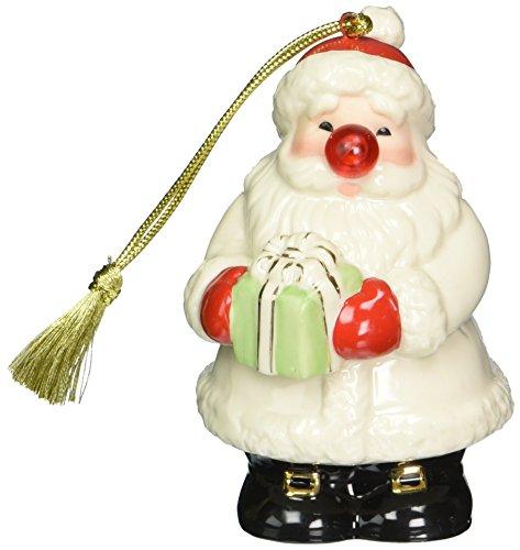 Lenox Blinking All The Way Santa Ornament
