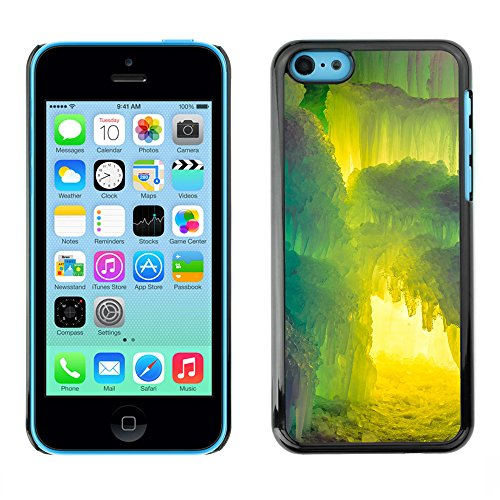 Premio Sottile Slim Cassa Custodia Case Cover Shell // F00012296 châteaux de glace // Apple iPhone 5C