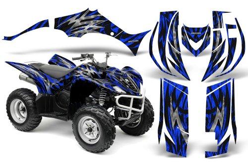 CreatorX Yamaha Wolverine Graphics Kit Decals Bolt Thrower Blue
