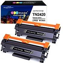 GPC Image TN2420 TN-2420 Cartuchos de tóner Compatible para TN2410 TN-2410 para Brother DCP L2510D L2530DW L2550DN, HL