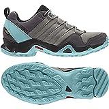 Adidas Sport Performance Women's Terrex AX2R Gore-Tex Hiking Sneakers, Grey Textile, Rubber, 6 M