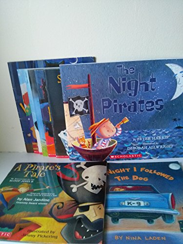 Book Sets for Kids: Wolf's Coming; Thunder Boom; Dinosaur Train; the Night I Followed the Dog; the Night Pirates; a Pirate's Tale; Skeleton Hiccups; Pumpkin Eye -