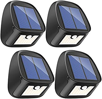4-Pack Erligpowht 29 LED Solar Motion Sensor Lights