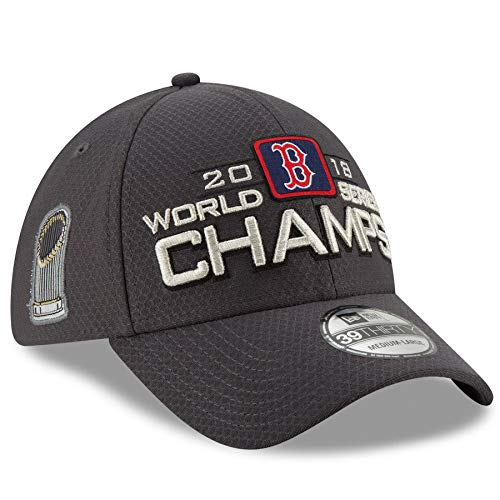 Official Red Sox 2018 World Series Champions Locker Room Flex Hat & Red Sox WS Flag