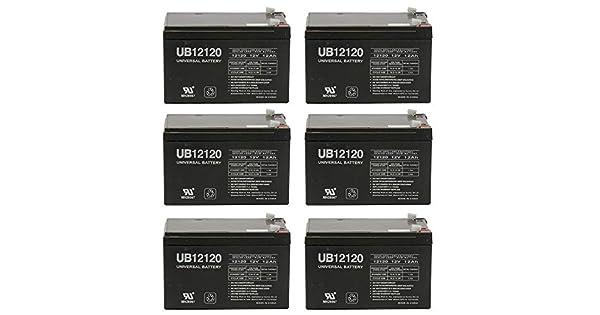 Amazon.com: 12 Volt 12 Amp Hour SLA Batería 12 V 12 Ah eBike ...