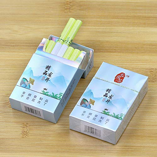 HUWOYMX Yunnan Chinese Herbal Medicine, Green Tea, Cigarettes, Herbal Tea, Smoked Tea, Clean Lungs-Cigarette Substitute…