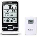 Oregon Scientific Advanced Weather Station w Atomic Time in Silver