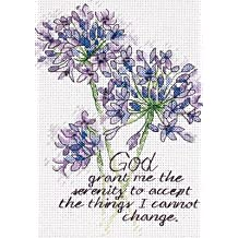 Dimensions Needlecrafts Counted Cross Stitch, Serenity Prayer