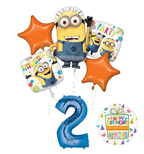 Mayflower Products Despicable Me 3 Minions 2nd Birthday
