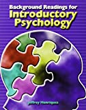 Background Readings for Introductory Psychology 9780787291983